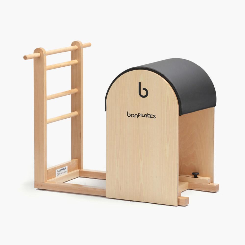 barril clasico escalera1 - Silla Wunda Clásica para Pilates