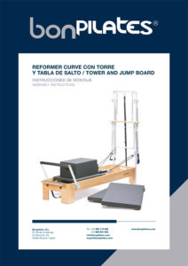 PORTADA REFORMER CURVE CON TORRE Y TABLA DE SALTO 212x300 - Instrucciones
