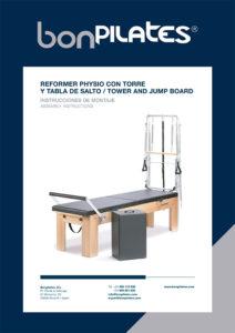 PORTADA REFORMER PHYSIO CON TORRE Y TABLA DE SALTO 212x300 - Instructions