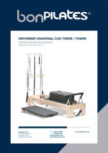 PORTADA REFORMER UNIVERSAL CON TORRE 212x300 - Instrucciones