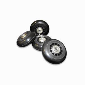 pack cuatro ruedas 300x300 - Pack de 4 ruedas negras
