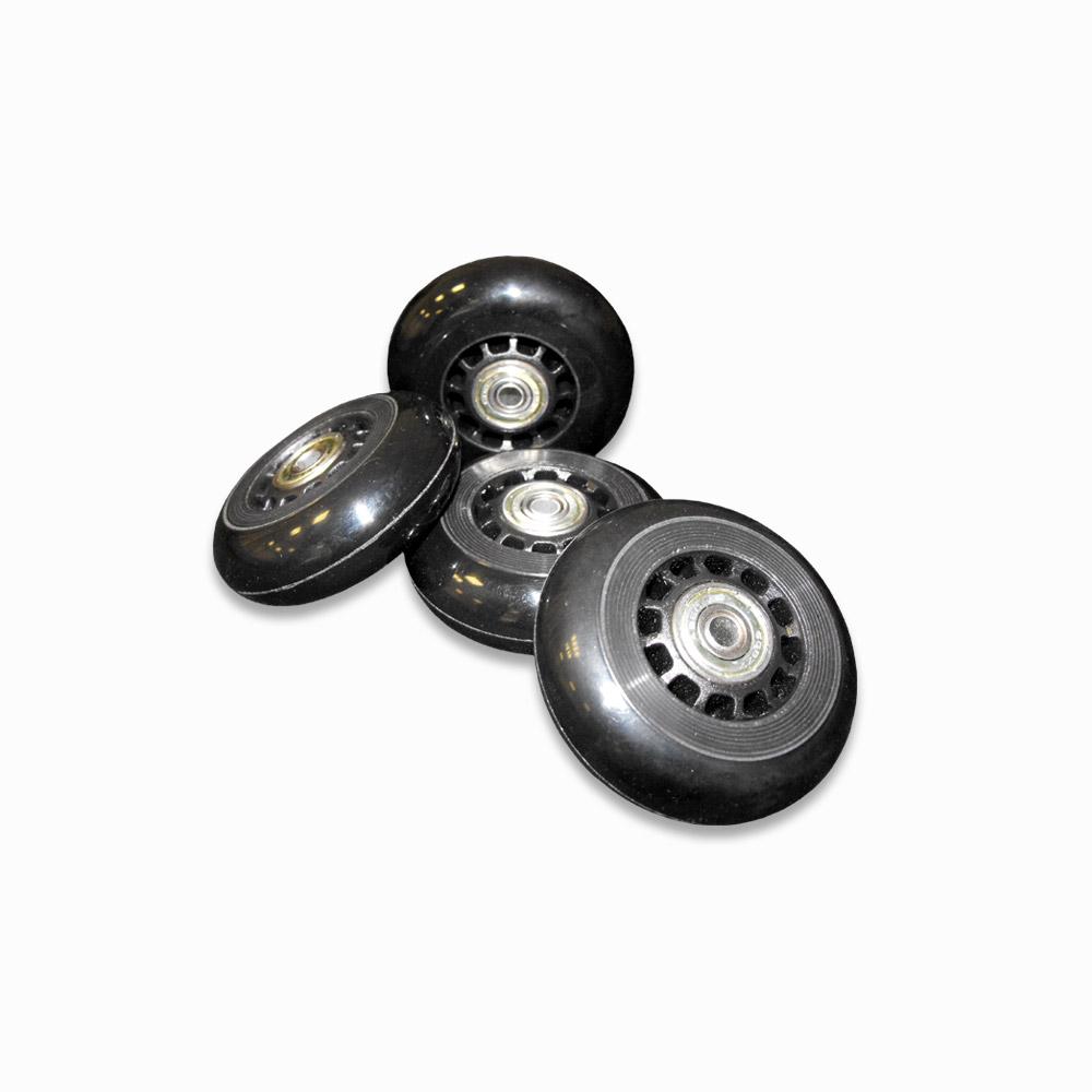 pack cuatro ruedas - Pack de 4 ruedas blancas