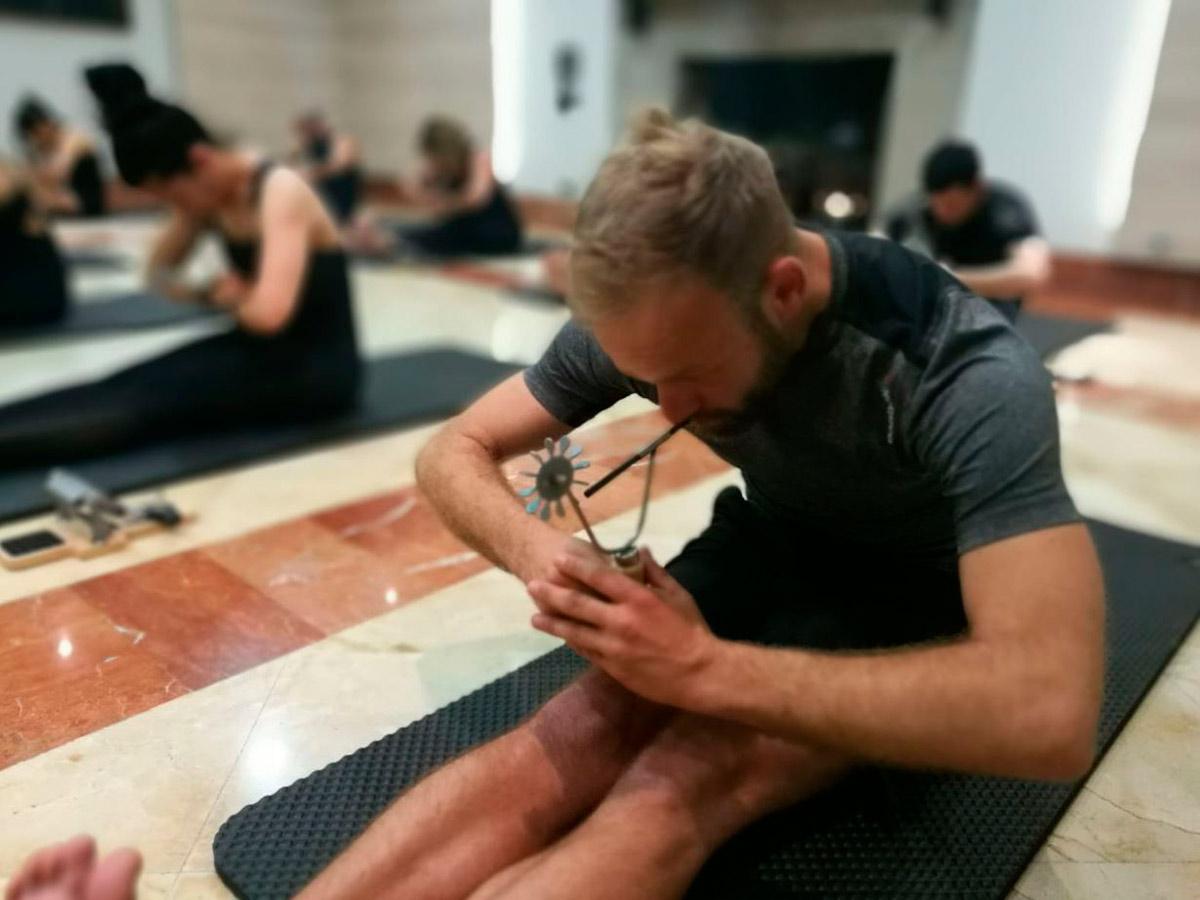 Respirar adecuadamente en pilates