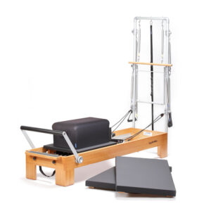 reformer torre pilates classic2 1 300x300 - Reformer wood monitor with tower