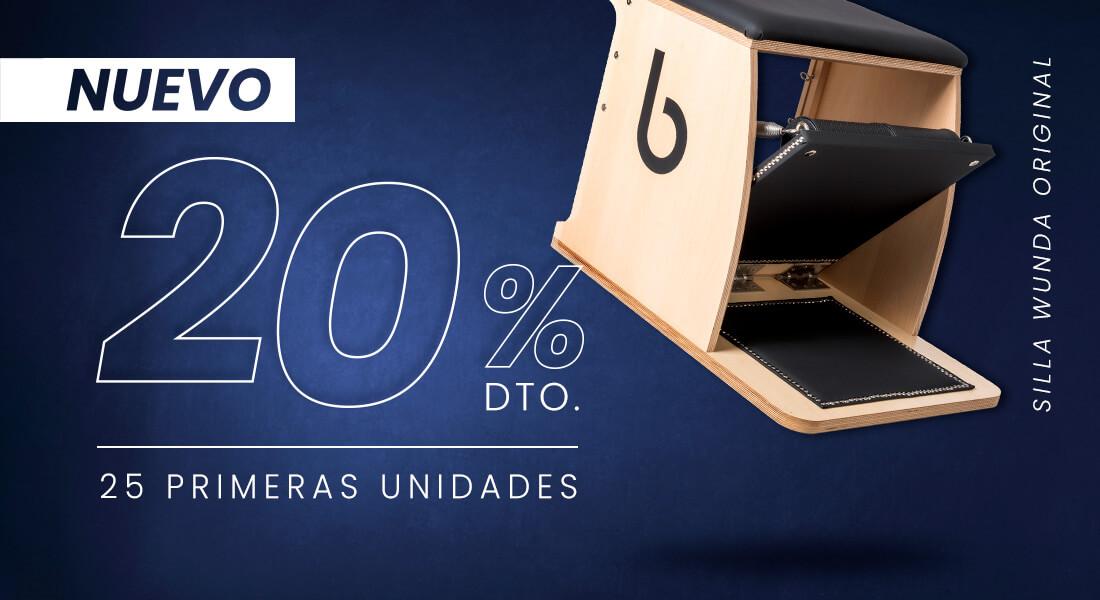 silla wunda NUEVO 1100x360 1 - Máquinas Pilates: reformer, accesorios y material