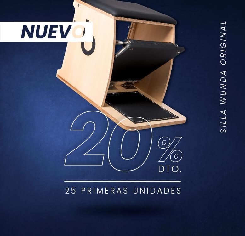 silla wunda NUEVO 778x750 1 - Máquinas Pilates: reformer, accesorios y material