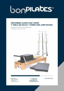 REFORMER CURVE CON TORRE Y TABLA DE SALTO   TOWER AND JUMP BOARD 1 pdf 724x1024 1 212x300 - Instructions