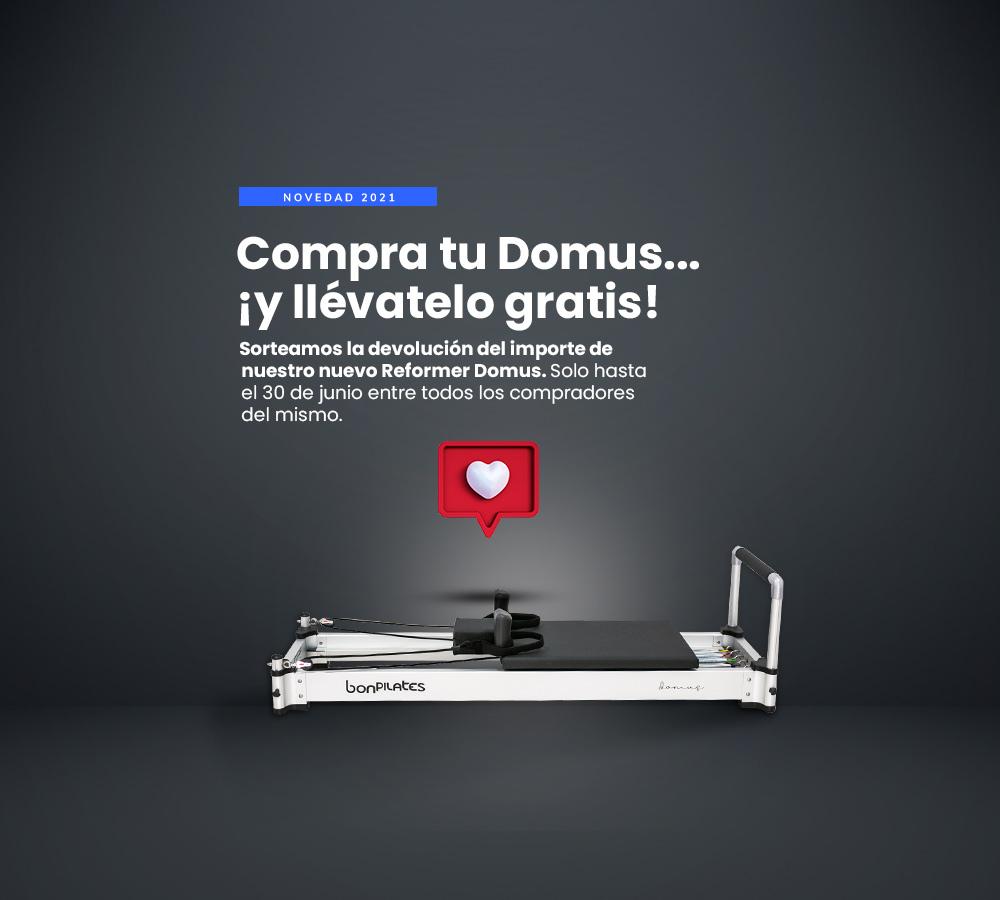 Sorteo Domus 1000x900 - Máquinas Pilates: reformer, accesorios y material