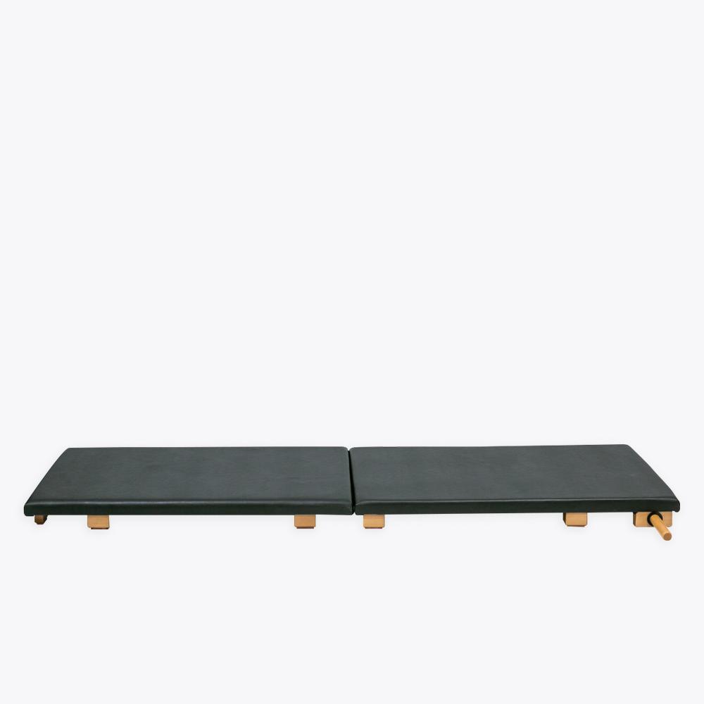 BONPILATES COODEX Mat plegable completo - Reformer Aluminium Domus